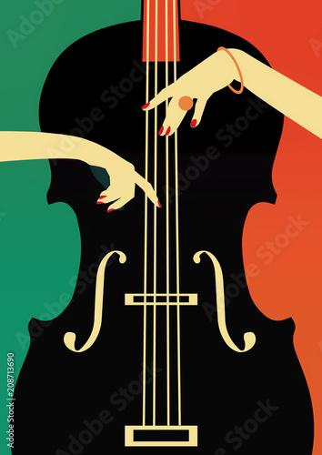 Plakaty Gatunki Muzyczne   jazz-music-festival-poster-background