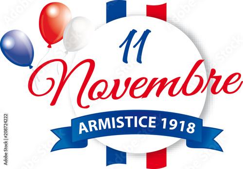 Valokuva  ARMISTICE 1918 - 11 NOVEMBRE V2