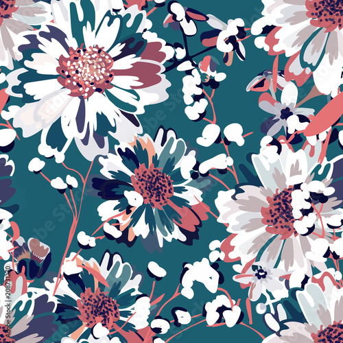 Seamless pattern for use in design. Fototapete