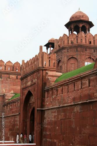 Stickers pour porte Delhi Red Fort, Delhi, India