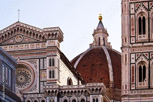 Fotografie, Obraz  Santa Maria del Fiore in Florence in Italy.