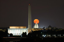 Harvest Moon In Washington, DC