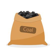 Bag With Coal.