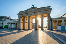 Brandenburger Tor In Berlin, D...