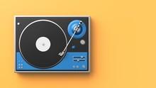 Retro Record - Vinyl Player Is...