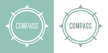 Compass Icon Logo Design