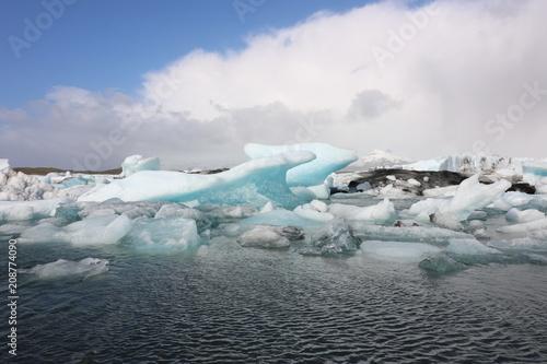 Foto op Plexiglas Gletsjers Gletscher
