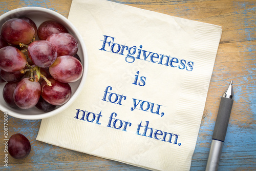 Fotomural  Forgiveness is for your not for them