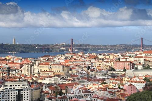 Zdjęcie XXL Lizbona gród
