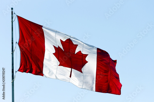 Poster Canada Canadian Flag Canada