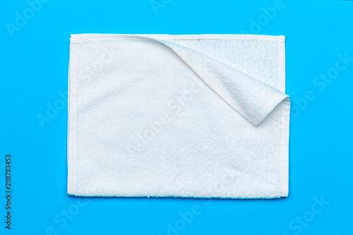 Fotografia spa towels, top view