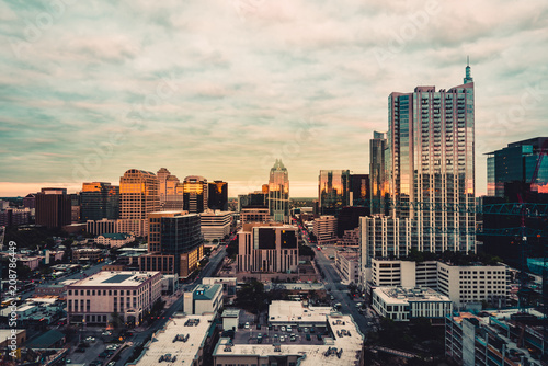 Austin Texas Canvas Print