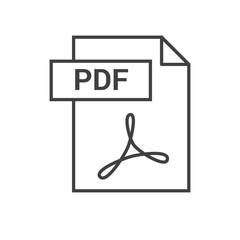 PDF Vector Icon