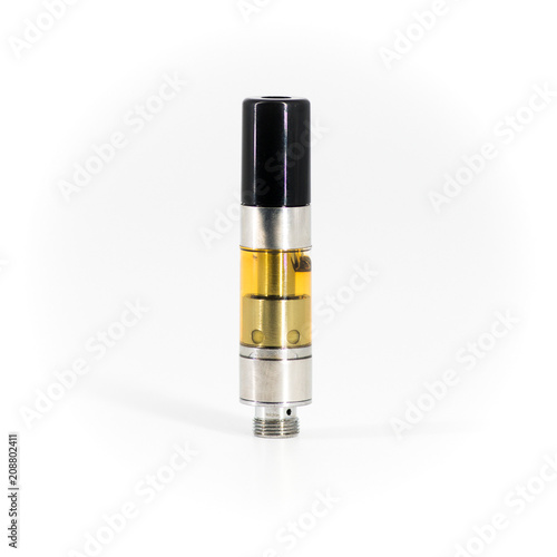 Fotografie, Obraz  Clean Cannabis Cartridge