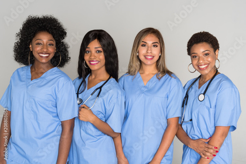 Fotografia  Group Of Nurses