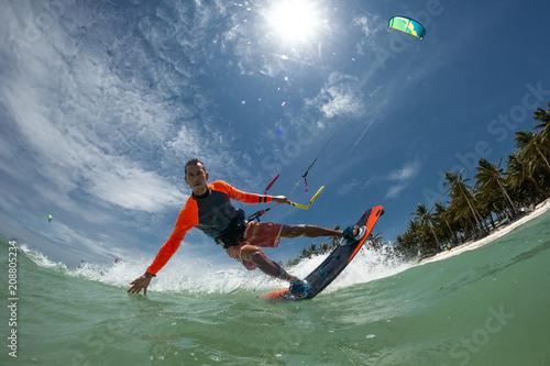 Obrazy Kitesurfing   kite-surfer