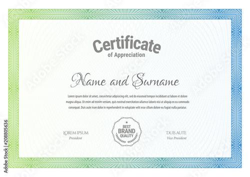 Fotografía  Certificate