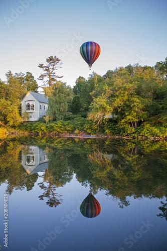In de dag Ballon Balloon Reflection