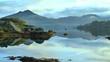 idyllic lake in ireland
