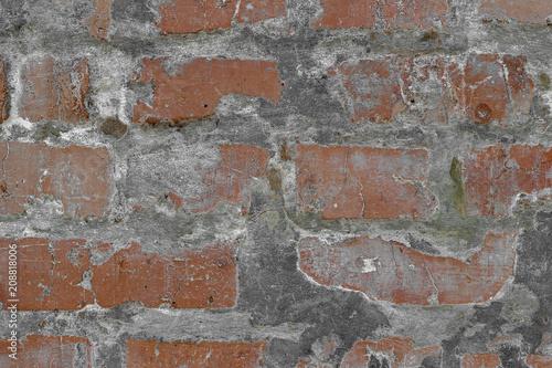 Foto op Plexiglas Wand Background of brick wall pattern texture. Great for graffiti inscriptions