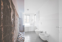 Tiled Bathroom Renovation  -  ...
