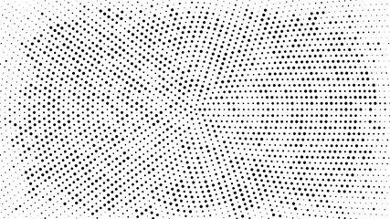 Halftone dotted background....