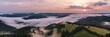 Schwarzwald von oben - Sonnenaufgang