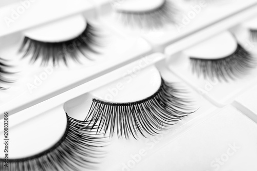 Fotografia, Obraz False eyelashes in pack, closeup