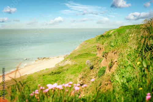 Papiers peints Beige paysage de la côte d'Opale