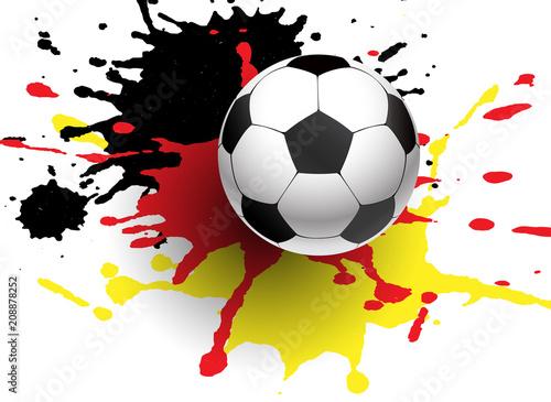 Fussball Symbol Deutschland Kaufen Sie Diese Vektorgrafik