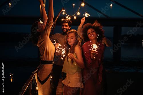 Splendid sparkler fun