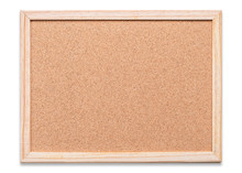 Blank Cork Board Mock Up With ...