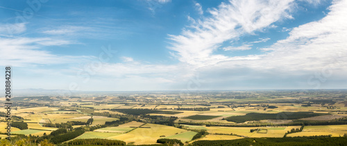 Wall Murals New Zealand Canterbury plains