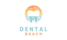 Modern Dental On The Beach Log...