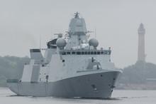 WARSHIP - Danish Frigate Sails...