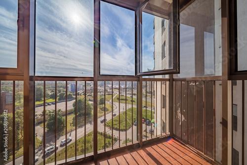 Photo Small balcony interior
