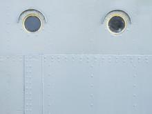 Detailed Gray Metal Wall Backg...