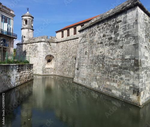 Foto op Canvas Havana Castillo de la Real Fuerza. L'Avana, Cuba
