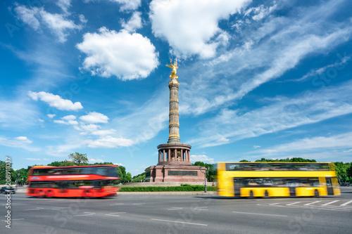 Siegessäule am Großen Stern in Berlin, Deutschland