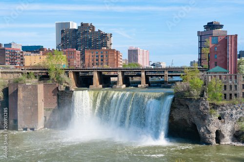 Valokuva  High Falls of Rochester, New York