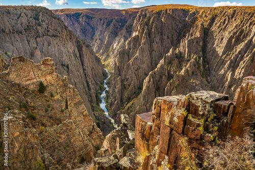 Fotografia, Obraz Gunnison Black Canyon