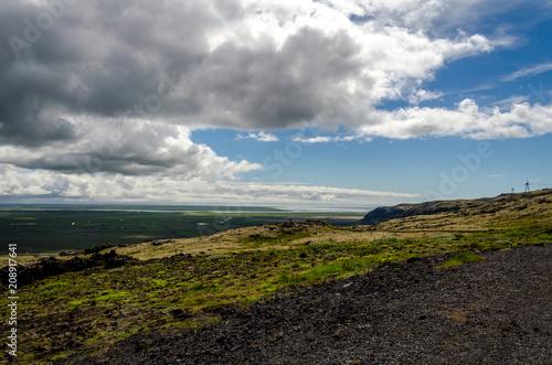 Spoed Foto op Canvas Grijze traf. Iceland landscape