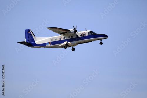 Fotografie, Obraz  Turboprop Flugzeug