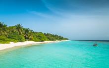 Maldives, The Perfect White Beach, Paradise