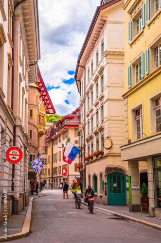 Valokuvatapetti Cityscape of Lucerne, Switzerland
