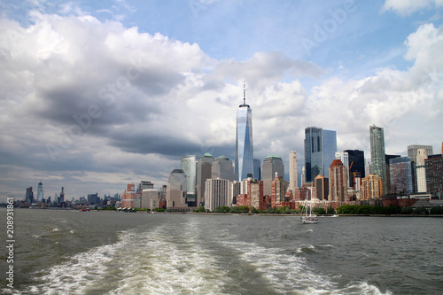 Fotobehang New York City Skylines NYC Manhattan