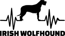 Irish Wolfhound Heartbeat Word