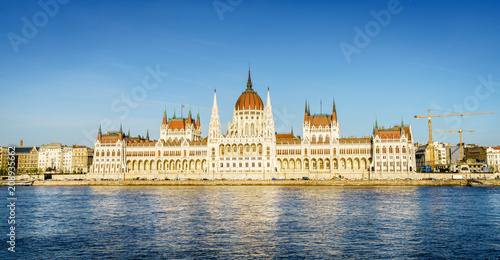 Fotobehang Boedapest Hungarian Parliament Building in Budapest
