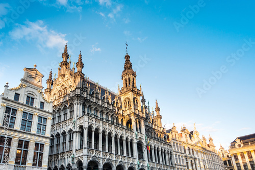 Fotografía  BRUSSELS, BELGIUM - August 27, 2017: Grand Place in Belgium.