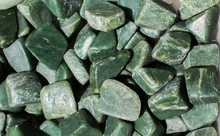 Jade Gem Stone As Natural Mine...